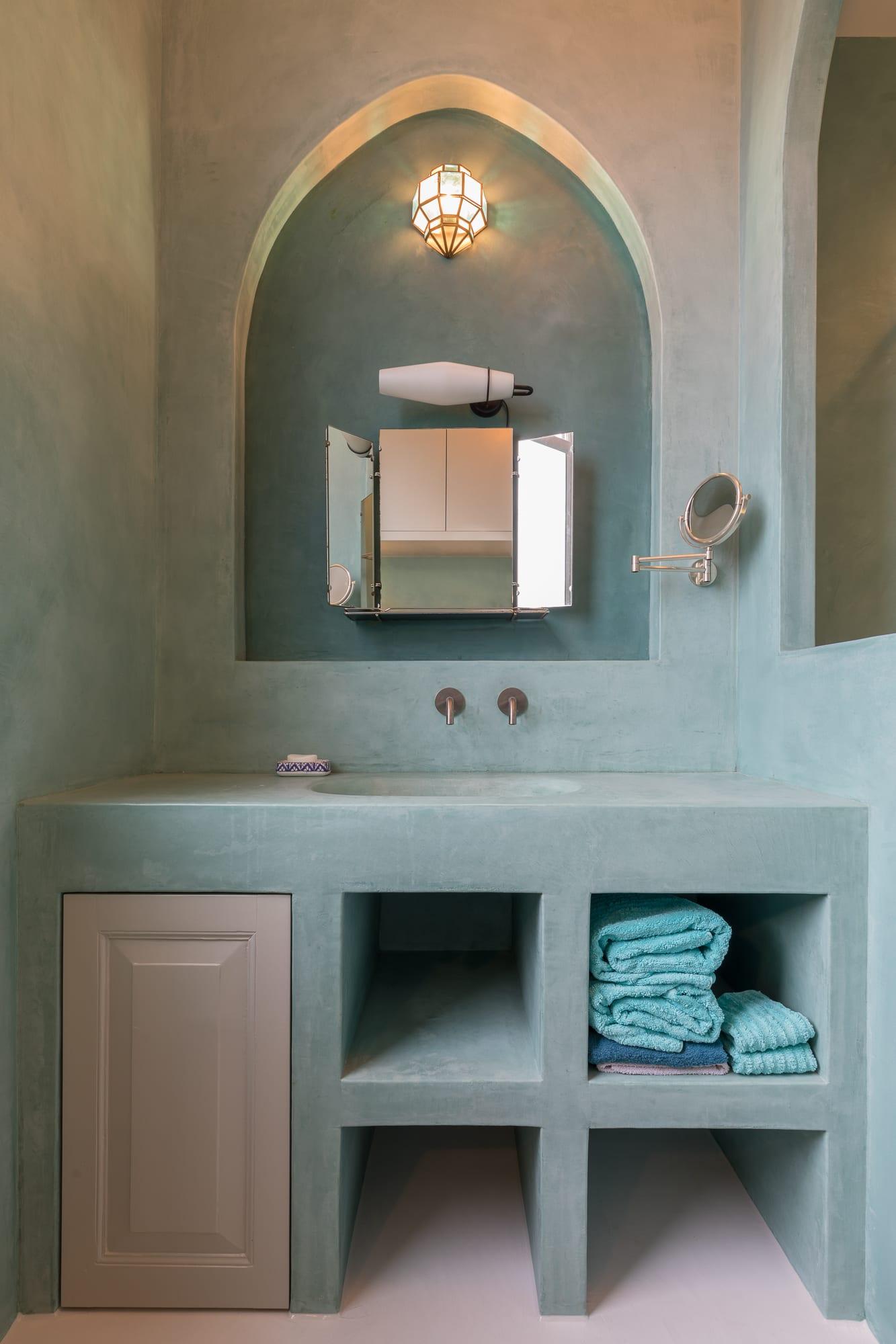 Tadelakt badkamer Bantega 4